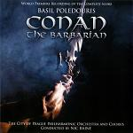 Basil Poledouris - Conan the Barbarian (the complete score) soundtrack double-CD cover