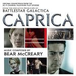 Bear McCreary: Battlestar Gallactica Caprica soundtrack CD cover