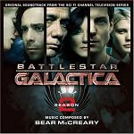 Bear McCreary: Battlestar Gallactica Season 2 soundtrack CD cover