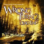 Bear McCreary: Wrong Turn 2: Dead End soundtrack CD cover