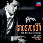 Benjamin Grosvenor: Chopin Piano Concertos - album cover