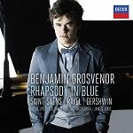 Benjamin Grosvenor: Rhapsody in Blue - album cover