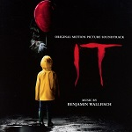 Benjamin Wallfisch: IT - film score album cover
