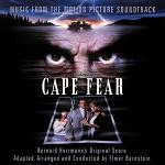 Bernard Herrman & Elmer Bernstein - Cape Fear soundtrack CD cover