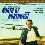 Bernard Herrmann - North by Northwest soundtrack CD cover