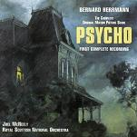 Bernard Herrmann - Psycho soundtrack CD cover