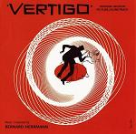 Bernard Herrman - Vertigo soundtrack CD cover