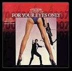 Bill Conti - For Your Eyes Only soundtrack CD cover