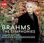 Johannes Brahms: The Four Symphonies - Simon Rattle conducting the Berlin Philharmonic (boxed set)
