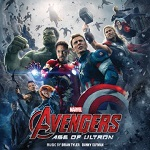 Brian Tyler and Danny Elfman - Avengers: Age of Ultron - album cover