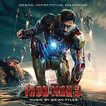 Brian Tyler - Iron Man 3 soundtrack CD cover