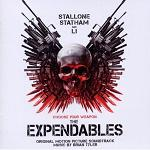 Brian Tyler - The Expendables soundtrack CD cover