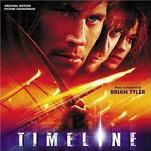 Brian Tyler - Timeline soundtrack CD cover