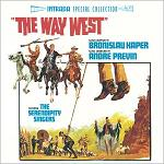 Bronislau Kaper - The Way West soundtrack CD cover