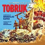 Bronislau Kaper - Tobruk soundtrack CD cover