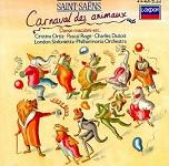 Camille Saint-Saens: Carnival of the Animals CD cover