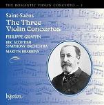 Camille Saint-Saens: Violin Concertos CD cover