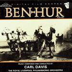 Carl Davis - Ben-Hur soundtrack CD cover