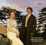 Carl Davis - Pride and Prejudice soundtrack CD cover