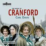 Carl Davis - the Music of Cranford soundtrack CD cover