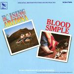Carter Burwell - Raising Arizona and Blood Simple soundtrack CD cover