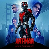 Christophe Beck: Ant-Man - film score soundtrack album cover