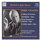 Eric Coates Calling all Workers Springtime CD cover