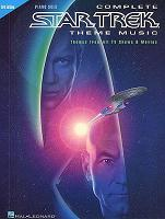 Complete Star Trek theme music - sheet music for piano book cover