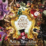 Danny Elfman: Alice through the Looking Glass - film score album cover