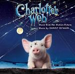 Danny Elfman: Charlotte's Web - soundtrack CD cover
