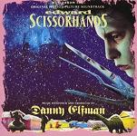 Danny Elfman - Edward Scissorhands soundtrack CD cover