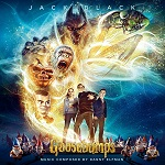 Danny Elfman: Goosebumps - film score album cover