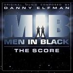 Danny Elfman: Men in Black - soundtrack CD cover