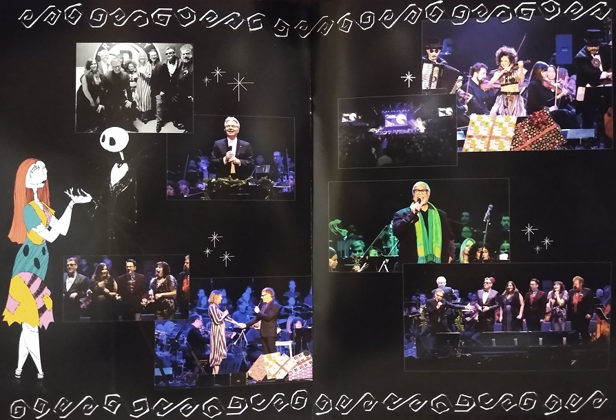 Danny Elfman: The Nightmare Before Christmas, Live in Concert - programme