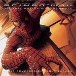Danny Elfman: Spiderman - soundtrack CD cover