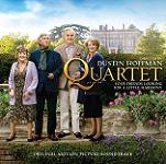 Dario Marianelli and various artists: Quartet - soundtrack CD cover