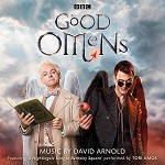 David Arnold: Good Omens - TV score album cover