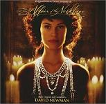 David Newman - The Affair of the Necklace soundtrack CD cover