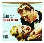 David Raksin - The Bad and the Beautiful soundtrack CD cover