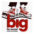 David Shire - Big the musical CD cover