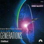 Dennis McCarthy - Star Trek : Generations soundtrack CD cover
