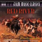 Dimitri Tiomkin - Red River soundtrack CD cover