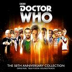 Doctor Who: The 50th Anniversary Collection - 4xCD set cover