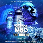 Doctor Who: The Daleks by Tristram Cary Brian Hodgson & the BBC Radiophonic Workshop - CD cover