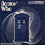 Doctor Who Theme single: 1973 stereo release (Tardis cover) - realised by Delia Derbyshire