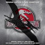 Don Davis & John Williams: Jurassic Park 3 - soundtrack CD cover