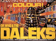 Dr. Who & The Daleks - cinema poster