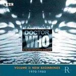 Doctor Who at the Radiophonic Workshop Vol.2 New Beginnings 1970-1980