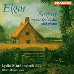 Edward Elgar: Sospiri, music for Violin and Piano - album cover