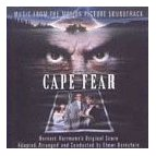 Elmer Bernstein - Cape Fear soundtrack CD cover